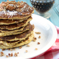 Hummingbird Cake Pancakes | Plaid and Paleo