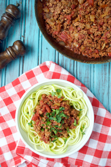 Rustic Chorizo Pasta | Plaid and Paleo