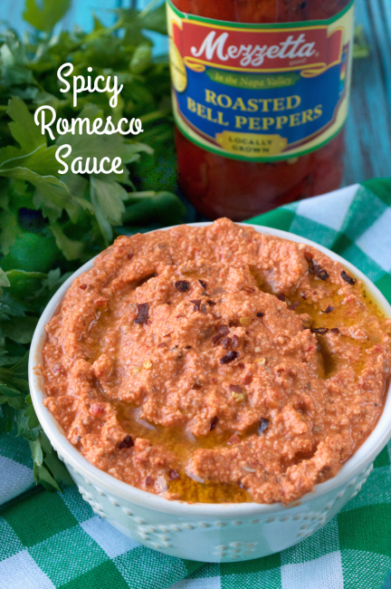Spicy Romesco Sauce | Plaid and Paleo