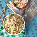 One-Pot Paleo Cauliflower Pork Fried Rice | Plaid and Paleo
