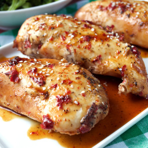 Crockpot Sweet and Spicy Chicken