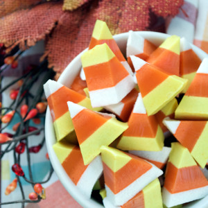 Paleo Candy Corn Gummies