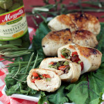Mediterranean Stuffed Chicken by Plaid and Paleo