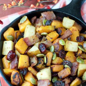 Paleo Fall Breakfast Hash | Plaid and Paleo