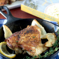 Lemon and Thyme Chicken Thighs from The Paleo Cupboard Cookbook Sneak Peak Recipe