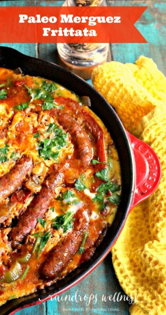 Paleo Merguez Frittata | | 25+ Whole30 Breakfast Casseroles