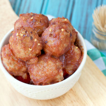 Maple Pork Meatballs | Plaid and Paleo