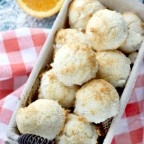 Paleo Creamsicle Macaroons from The New Yiddish Kitchen
