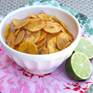 Sweet Lime Plantain Chips