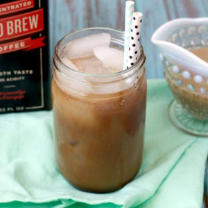 Paleo Starbuck's Vanilla Sweet Cream Cold Brew | Plaid and Paleo