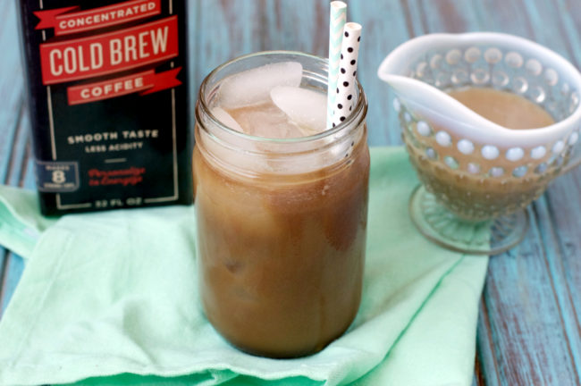 Paleo Starbuck's Vanilla Sweet Cream Cold Brew | Plaid and Paleo