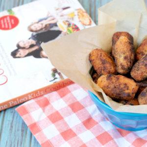 Paleo Sweet Potato Bacon Tots from The Paleo Kids Cookbook | Plaid and Paleo