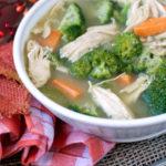Turkey, Sweet Potato and Broccoli Soup | Plaid and Paleo