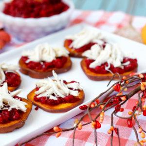 Paleo Thanksgiving Bruschetta | Plaid and Paleo