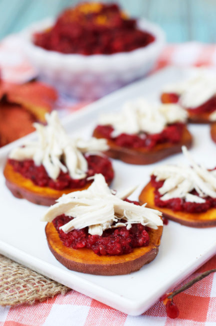 Paleo Thanksgiving Bruschetta | Plaid and Paleo