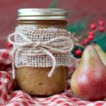 Paleo Pear Honey | Plaid and Paleo