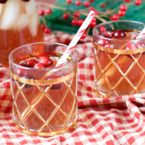2-Ingredient Paleo Holiday Punch | Plaid and Paleo