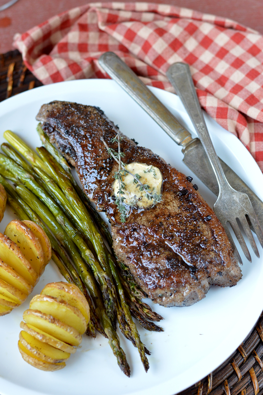 Cast Iron Steak Butter