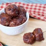 Instant Pot BBQ Meatballs | Plaid and Paleo