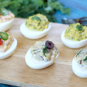 Instant Pot Deviled Eggs 3-ways