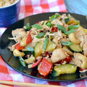 Paleo Instant Pot Kung Pao Chicken