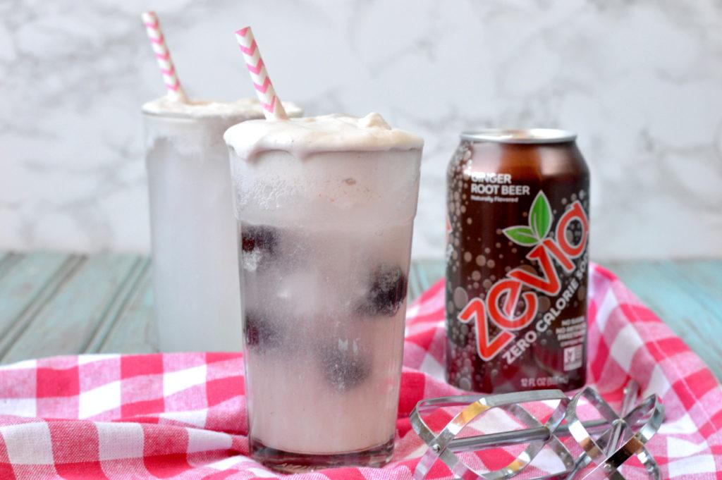 Paleo Root Beer Float | Plaid & Paleo