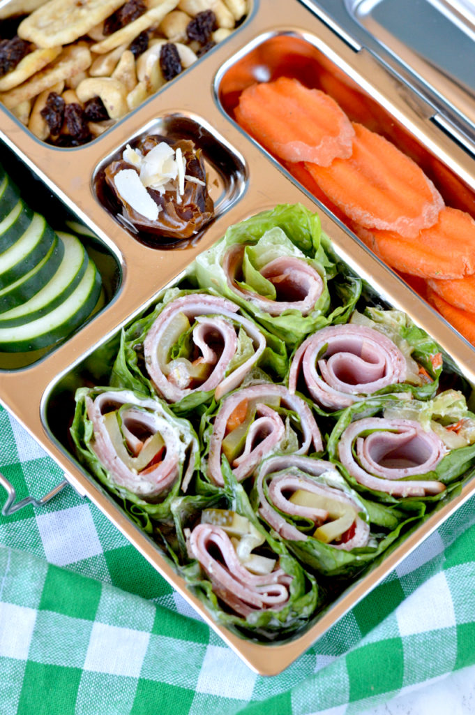 Paleo Italian Lettuce Wraps | Plaid and Paleo