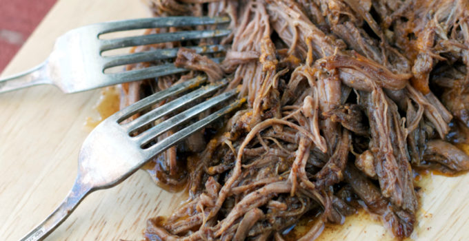 Slow Cooker Sweet & Spicy Beef