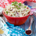 Paleo Sriracha Ranch Coleslaw | Plaid and Paleo