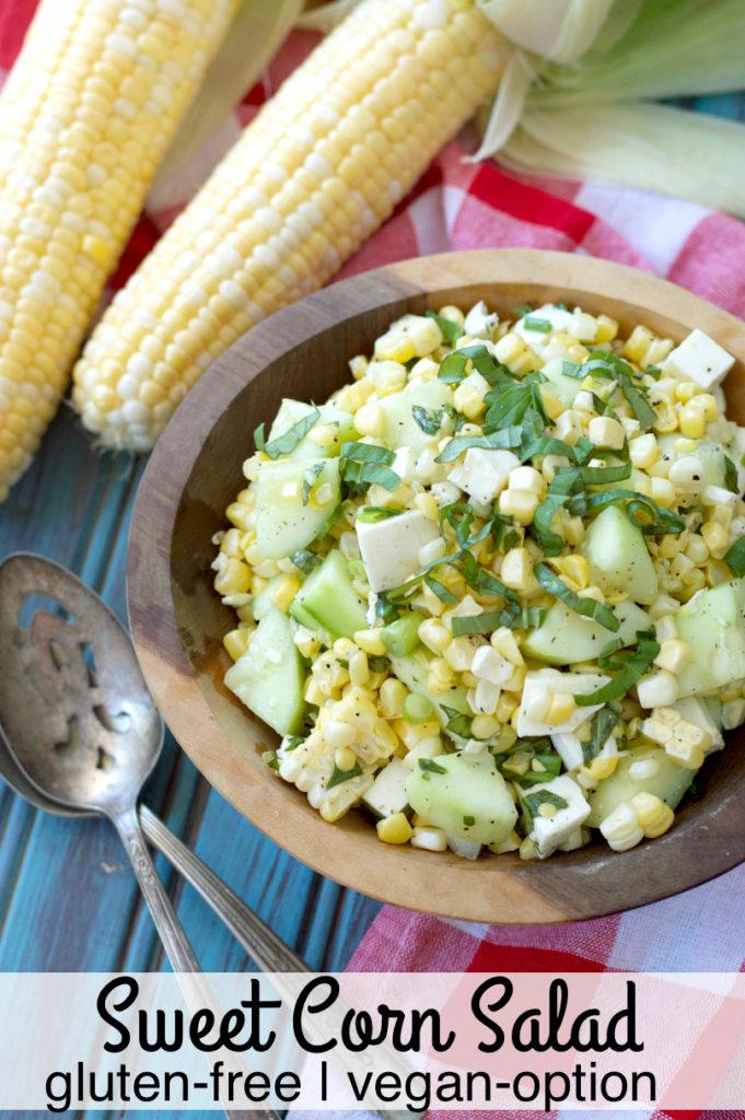 Sweet Corn Salad | Plaid and Paleo