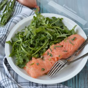 Easy Sous Vide Paleo Salmon | Plaid and Paleo